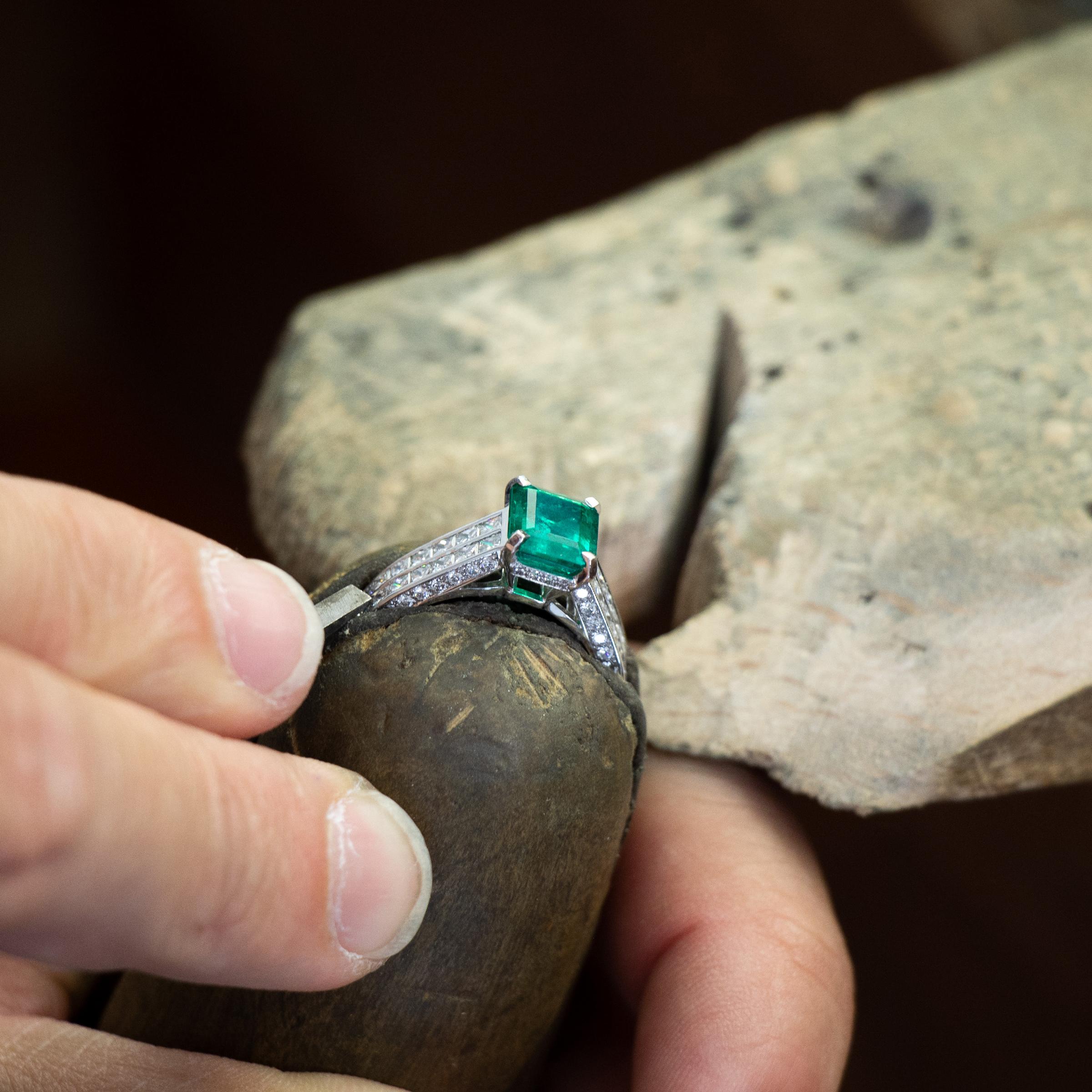 Bague - bijoux anciens Vichy