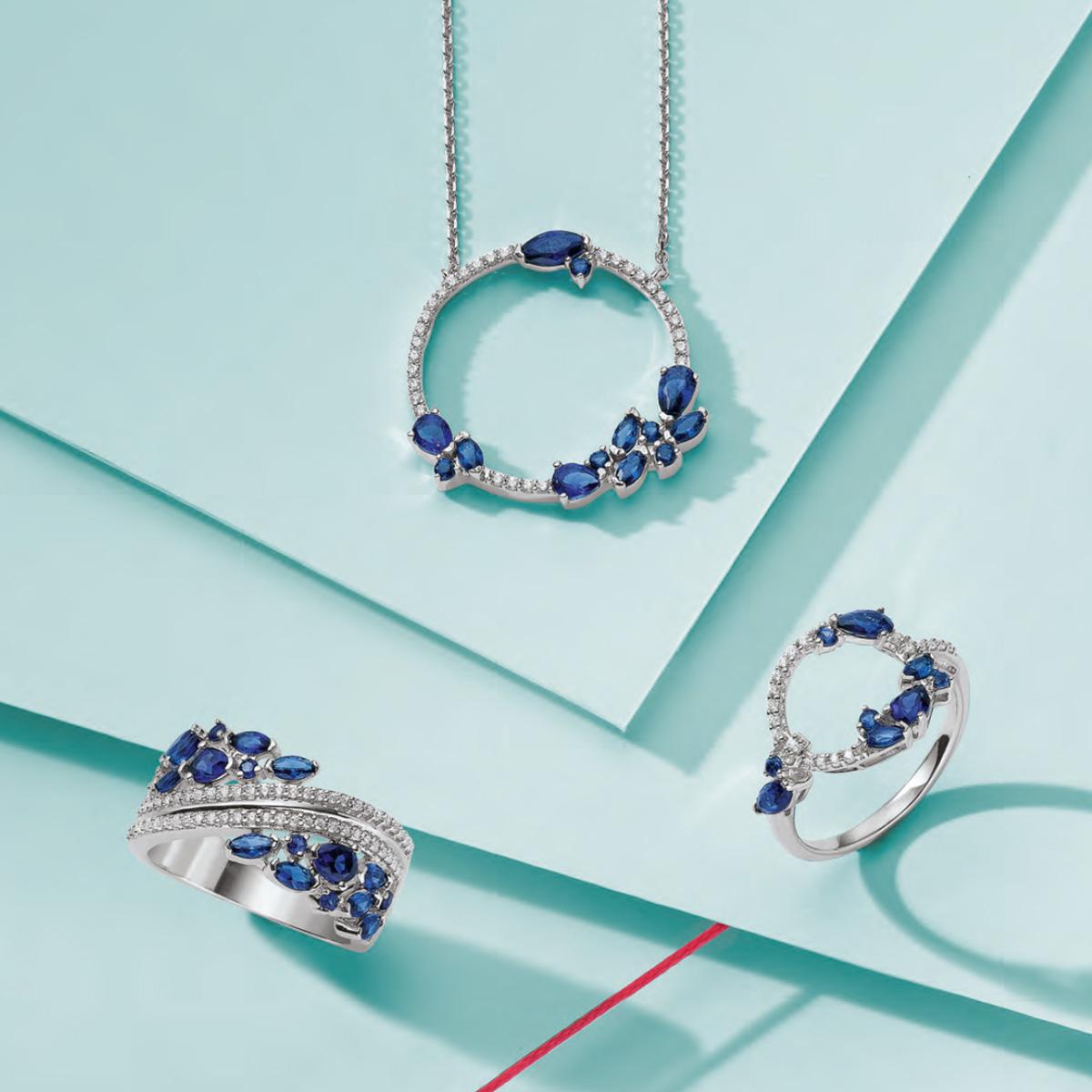 Bague, bijoux, Vichy, collier